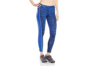 Adidas Originals Women's City NY Leggings-Blue-Medium