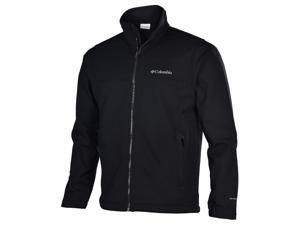 Columbia Men's Mt. Village Softshell Jacket-Black-1X