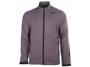 Nike Men's Dri-Fit Hyperspeed Lined Training Jacket-Gray/Black-2XL