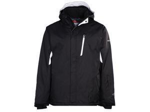 Columbia Men's Blancher Mountain II Omni-Tech Jacket-Black/White-Small
