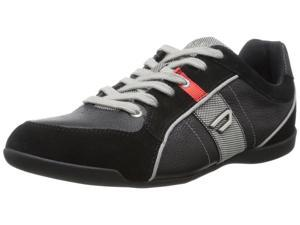 Diesel Men's Magnum Quayle Fashion Sneaker-Black-9.5