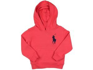 Polo Ralph Lauren Little Boys' (2-7) Big Pony Pullover Hoodie-Crosby Red-6