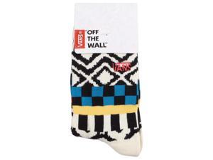 Vans Girls' Kaley Graphic Crew Socks-Cream/Multi-1-6