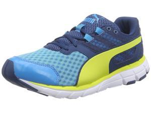 Puma Men's Poseidon V2 Running Shoes-Blue/Poseidon/Sulphur-8.5