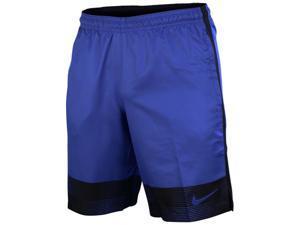 Nike Men's Dri-Fit Strike GPX Woven Soccer Shorts-Game Royal/Black-Large