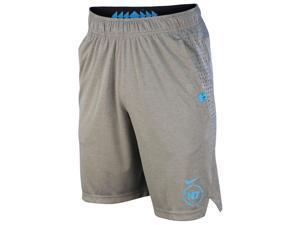 Nike Men's Dri-Fit N7 Diamond Speed Training Shorts-Dark Heather Gray-XL