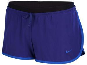 Nike Women's Dri-Fit Full Flex 2-In-1 Training Shorts-Royal Blue/Black-Large