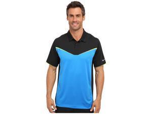 Nike Men's Dri-Fit Innovation Colorblock Golf Polo Shirt-Blue/Black-Small