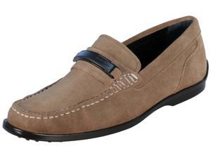 Calvin Klein Men's Keeran Suede Slip On Shoes-Sand-12