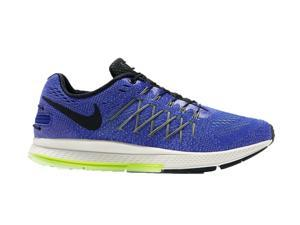 Nike Men's Pegasus 32 Flyease Running Shoes-Blue/White-10