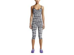 Nike Women's Criss Cross Training Body Suit-Slate-Medium
