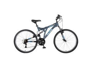 "Polaris Scrambler 26"" Dual Suspension Mountain Bike"