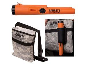 Garrett PRO-Pointer® AT Pinpointing Metal Detector Accessory with Garrett® CAMOUFLAGE Digger's Pouch