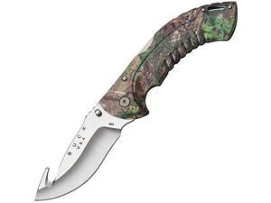 Buck Knives 0398CMG20 Folding Omni Hunter Knife, 12 PT, Guthook, RealTree Xtra Green Camo BU398CMG20