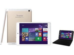 """iView IVIEW-785QW- 7.85"""" Windows 8.1 tablet with Quad Core Intel Inside with Bluetooth Keyboard Case"""