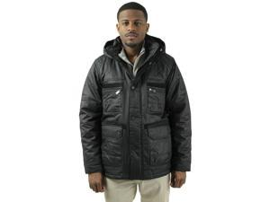 English Laundry Men's Wax Cotton Twill Jacket Coat
