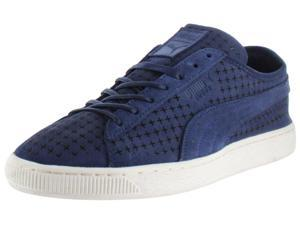 Puma Suede Courtside Men's Court Sneakers Shoes Perforated