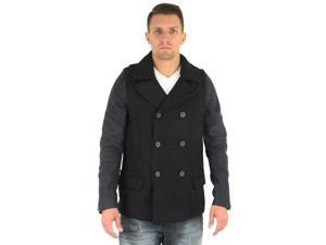 Cohesive Signature Men's Double Breasted Winter Peacoat
