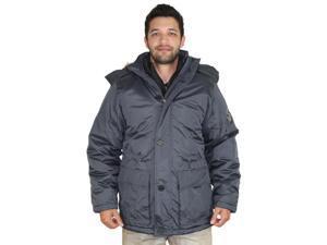 Canada Weather Gear Men's Faux Down Goose Parka Jacket