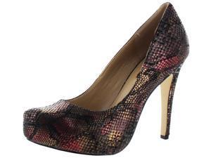 BCBGeneration Parade Women's Dress Shoes High Heels Snake
