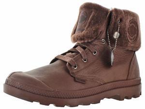 Palladium Baggy Leather Gusset Men's Waterproof Boots Sherpa