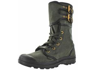 Palladium Pampa Peloton Women's Canvas Combat Boots