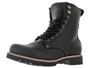 Levi's Jeans Baxter Men's Leather Engineer Logger Boots
