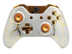 """Gold Thunder"" Xbox One Rapid Fire Modded Controller"