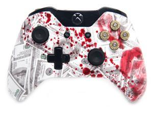 """Scary Blood Money"" Xbox One Modded Controller"