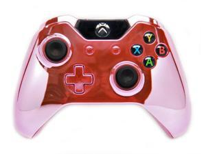 Chrome Pink Xbox One Rapid Fire Modded Controller