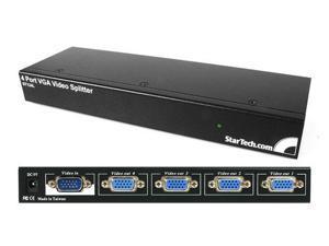 StarTech 4 Port 250 MHz VGA Video Splitter / Distribution Amplifier
