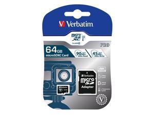 Verbatim 64GB Pro U3 microSDXC