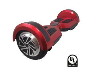 Hoveroid Boost UL Certified Hoverboard - Black/Red