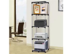 Yaheetech Home Kitchen Office 4-Tier Shelf Narrow Shelving Unit
