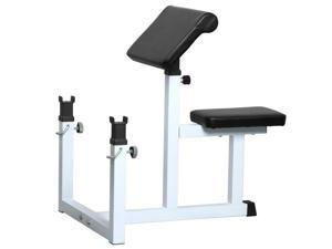 Yaheetech EN957 Commercial Preacher Curl Weight Bench Seated Preacher Isolated Dumbbell Biceps