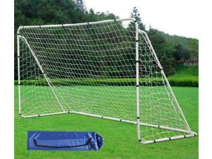 Yaheetech 12' x 6' Professional Soccer Goal With Net,Velcro Straps, Anchor Large Soccer Goal Sports