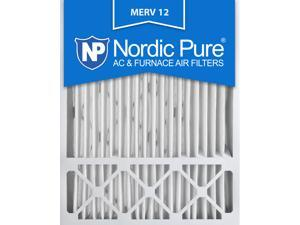 Nordic Pure 20x25x5 Honeywell Replacement MERV 12 Air Filters Qty 2