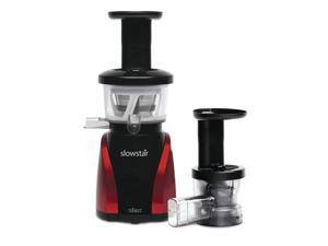 Tribest SW-2000-B Slowstar Vertical Slow Juicer and Mincer, Red/Black [Kitchen]