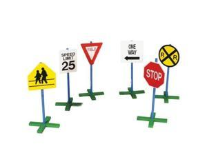Guidecraft - Drivetime Signs - Set of 6