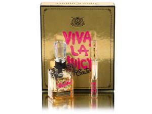 Viva La Juicy Gold Couture EDP 3.4oz + EDP Rollerball Duo Viva la Juicy & Viva la Juicy Gold Couture by Juicy Couture