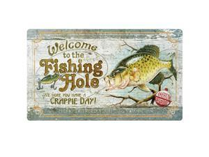 American Expedition Cutting Board - Fishing Hole Crappie