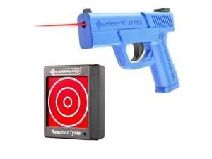 Laserlyte Training Tyme Kit, Includes Trainer Trigger Tyme Laser Compact Pistol and 1 Reaction Tyme Target TLB-LRT