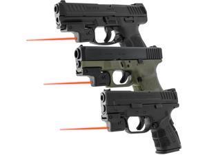 Laserlyte Lyte Ryder, Pistol Laser, Univsersal, Rail Mount Laser, Black Finish UTA-FSL