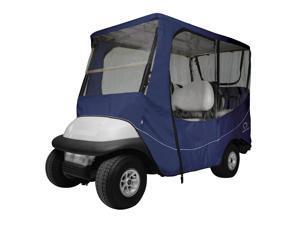 Fairway Travel Golf Cart Long Roof Enclosure - Navy
