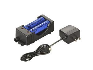 Streamlight 18650 Button Top Li-Ion Battery/Charger-120V AC