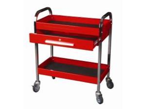 Two-shelf, One-Drawer Service Tool Cart