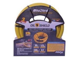 """BluBird Oil Shield 1/2"""" x 25' Air Hose"""