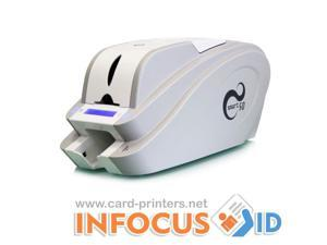 New Smart 50S Plastic ID Card Printer with USB+ Magnetic Stripe & Mifare Encoder