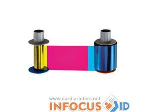 Fargo YMCKK Full Colour Ribbon 86033 - for DTC500