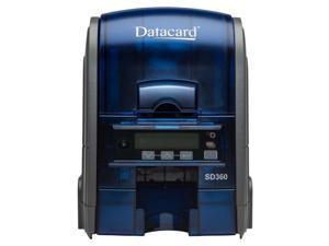 Datacard SD360 Duplex ID Card Printer with 100 Card Input Hopper & Mag Encoding